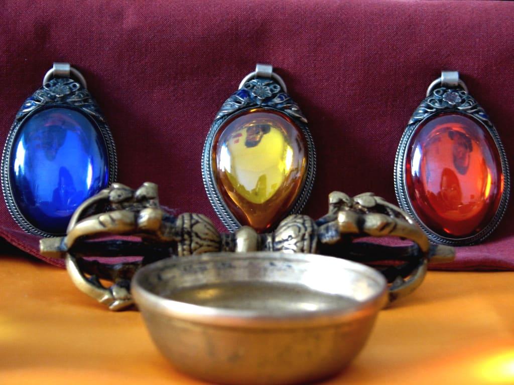 The Three Jewels Of Buddhism