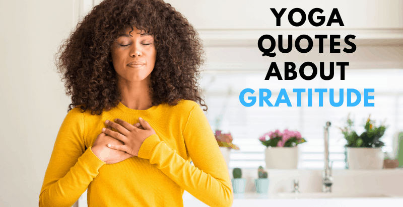 Yoga Quotes About Gratitude